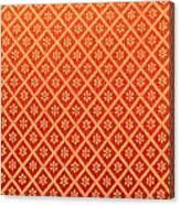Pattern Of Cloth Canvas Print