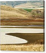 Patterns In The Landscape Canvas Print