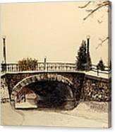 Patterson Creek Bridge Canvas Print