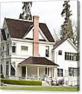 Patterson House Ardenwood Historic Farm Canvas Print