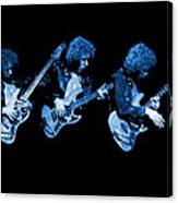 Paul Harwood Of Mahogany Rush Plays The Blues Canvas Print