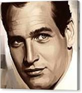 Paul Newman Artwork 1 Canvas Print