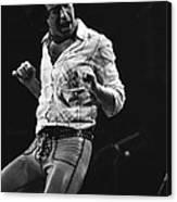 Paul Rocks Steady In Spokane In 1977 Canvas Print