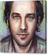 Paul Rudd Portrait Canvas Print