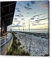Pavilian And The December Sunrise Canvas Print