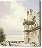 Pavilion De Flore, Tuileries, Paris Canvas Print