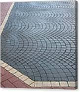 Paving Bricks Canvas Print