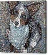Pawlick No. 1 - Pembroke Welsh Corgi Canvas Print