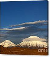 Payachatas Volcanos Chile Canvas Print
