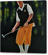 Payne Stewart Canvas Print