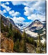 Payto Lake Glacier  Canvas Print