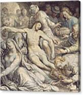 The Lamentation Over The Dead Canvas Print