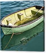 Pea-green Boat Canvas Print