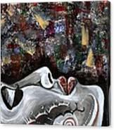 Peace Amidst Turmoil Canvas Print