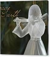 Peace Angel Canvas Print