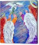 Peace Angels Canvas Print