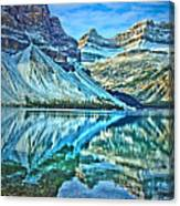 Peace At Bow Lake Canvas Print