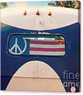 Peace Bus Canvas Print