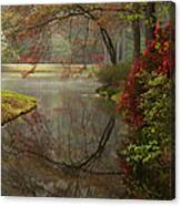 Peace In A Garden Canvas Print