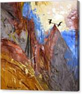 Peace Love And Joy Canvas Print