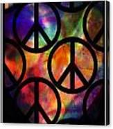 Peace Series Viii Canvas Print