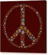 Peace Symbol Design - S05d Canvas Print
