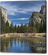 Peaceful Afternoon In Yosemite Canvas Print