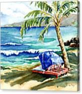 Peaceful Bay Canvas Print