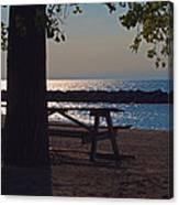Peaceful Beach Canvas Print