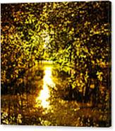 Peaceful Day In Summer Canvas Print