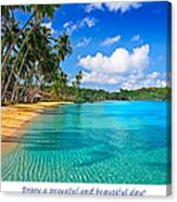 Peaceful Day Canvas Print