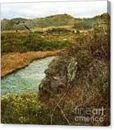 Peaceful Estuary In Carmel Canvas Print