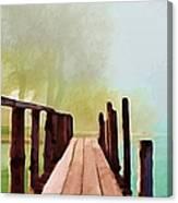 Peaceful Foggy Day Canvas Print
