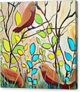Peaceful Gathering  Canvas Print