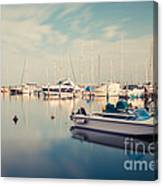 Peaceful Harbour Canvas Print