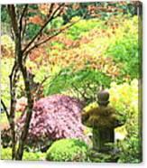 Peaceful Japanese Garden Canvas Print