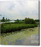 Peaceful Kinderdijk Canvas Print