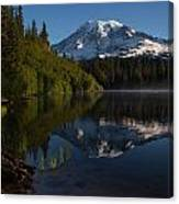 Peaceful Mountain Serenity Canvas Print