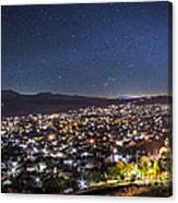 Peaceful Night In Bitola Canvas Print