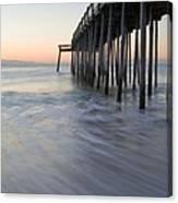 Peaceful Ocean Sunrise Canvas Print