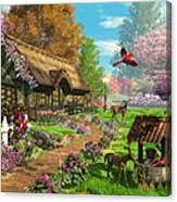 Peaceful Retreat Canvas Print