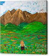 Peaceful Walk Canvas Print