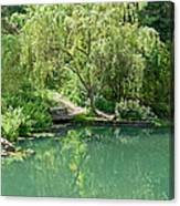 Peaceful Willow Tree Art Prints Canvas Print