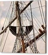 Peacemaker Rigging Canvas Print