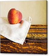 Peach Still Life Canvas Print