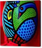 Peacock Egg II  Canvas Print