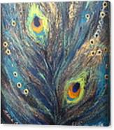 Peacock Eyes Canvas Print
