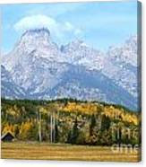 Peak Cloud Canvas Print