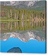 Peak Reflection Canvas Print