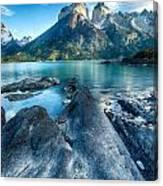 Peaks In Patagonia Canvas Print